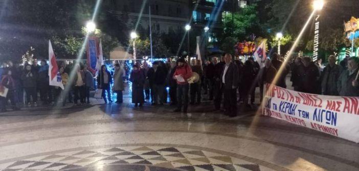 Και οι οικοδόμοι στο συλλαλητήριο του Εργατικού Κέντρου Αγρινίου την Πέμπτη