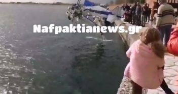 Έγινε η ανέλκυση του αεροσκάφους στο Κρυονέρι (ΔΕΙΤΕ VIDEO)