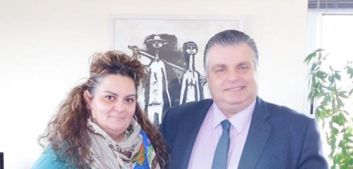 Μεσολόγγι: Στο πλευρό του Νίκου Καραπάνου η Κωνσταντίνα Γεωργίου – Νικολοπούλου