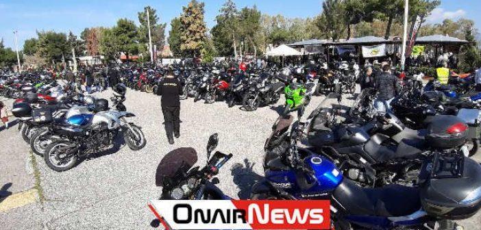 Μοτοσυκλετιστές από όλη την Ελλάδα στο Μεσολόγγι (ΔΕΙΤΕ ΦΩΤΟ)