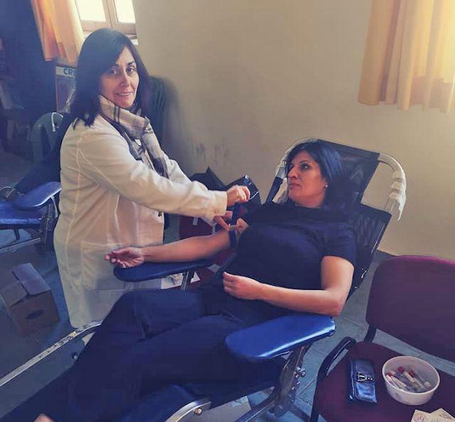 Εθελοντική αιμοδοσία στην Κατούνα (ΔΕΙΤΕ ΦΩΤΟ)