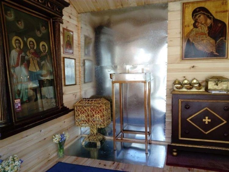 Λευκάδα: Έτοιμο το εκκλησάκι στον Άγιο Μηνά (ΔΕΙΤΕ ΦΩΤΟ)