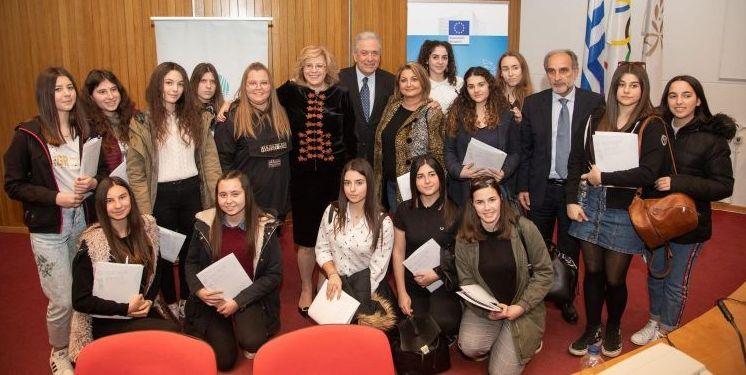 Οι μαθητές του Λυκείου και πολίτες του Αιτωλικού στον ανοικτό διάλογο για «Το Μέλλον της Ευρώπης» στην Αρχαία Ολυμπία (ΔΕΙΤΕ ΦΩΤΟ)