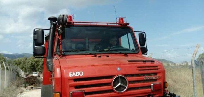 Πυρκαγιά σε χωράφι στο Μπούζι Αγρινίου – Κινητοποίηση της Πυροσβεστικής