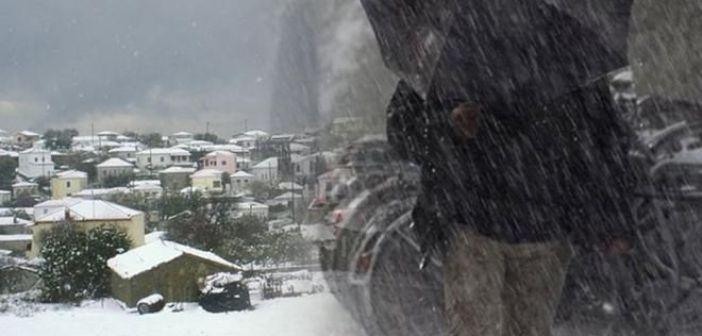 Έρχεται κακοκαιρία με καταιγίδες και χιόνια – Πτώση θερμοκρασίας από Δευτέρα
