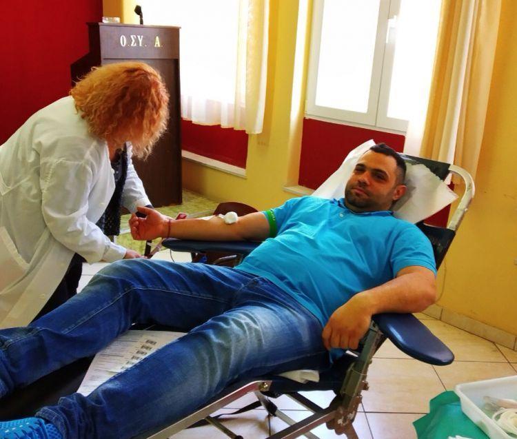 ΠΑΝ.ΣΥ.: Ικανοποιητική η ανταπόκριση στην εθελοντική αιμοδοσία (ΔΕΙΤΕ ΦΩΤΟ)