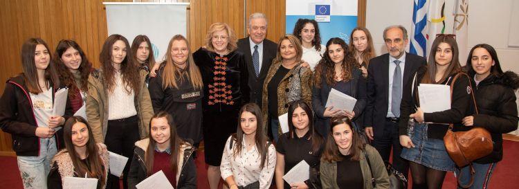 Δυτική Ελλάδα: Ανοικτός διάλογος για το μέλλον της Ευρώπης με τους Ευρωπαίους Επιτρόπους Δημήτρη Αβραμόπουλο και Κορίνα Κρέτσου (ΔΕΙΤΕ ΦΩΤΟ)