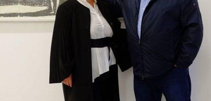 Μεσολόγγι: Η Μαρία Τσιρογιάννη – Παναγοδήμου στο πλευρό του Νίκου Καραπάνου (ΦΩΤΟ)