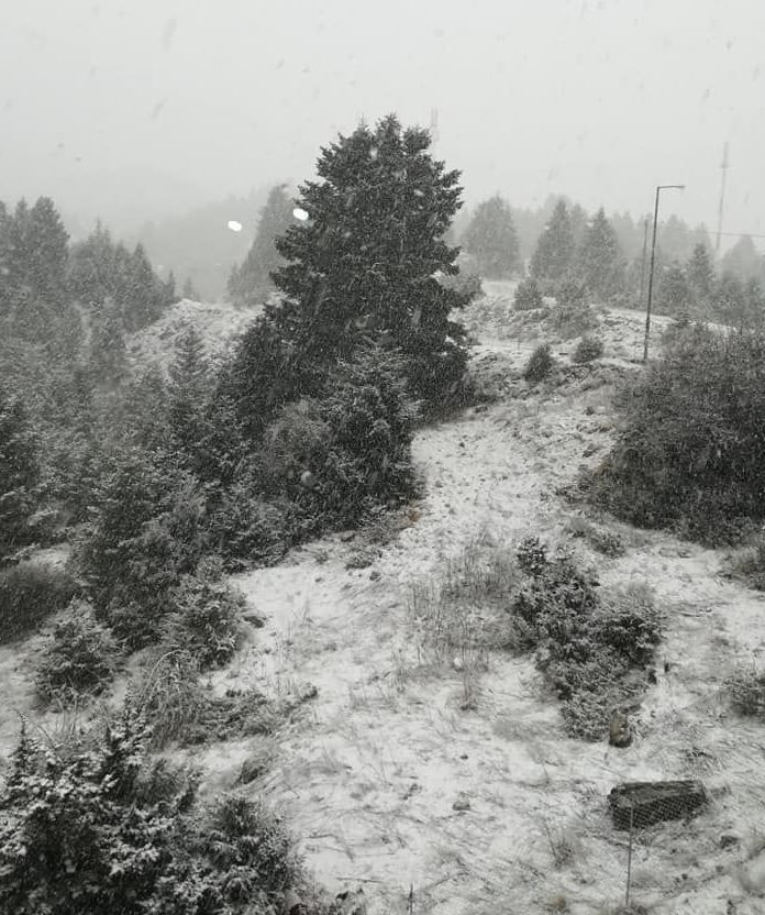 Στα λευκά ξανά η Ορεινή Ναυπακτία και Δωρίδα (ΔΕΙΤΕ ΦΩΤΟ + VIDEO)