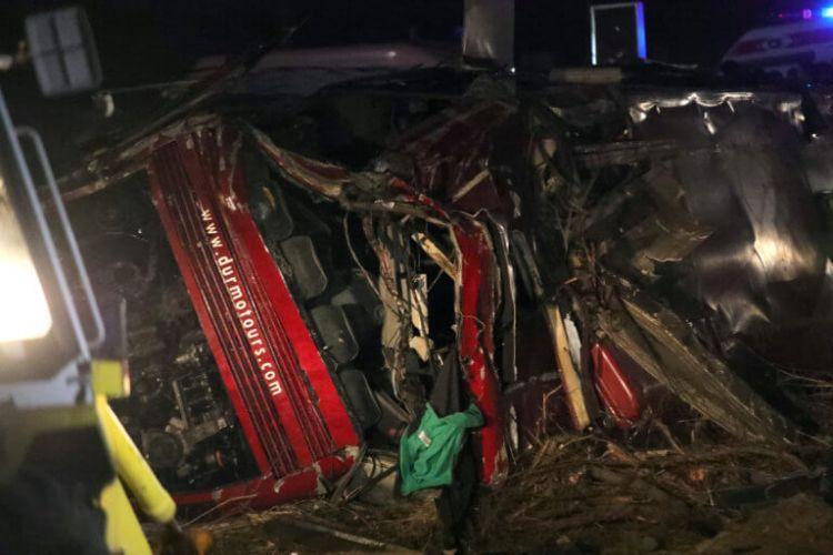 Θρήνος στη Βόρεια Μακεδονία: 14 οι νεκροί από την ανατροπή λεωφορείου (ΔΕΙΤΕ ΦΩΤΟ – VIDEO)