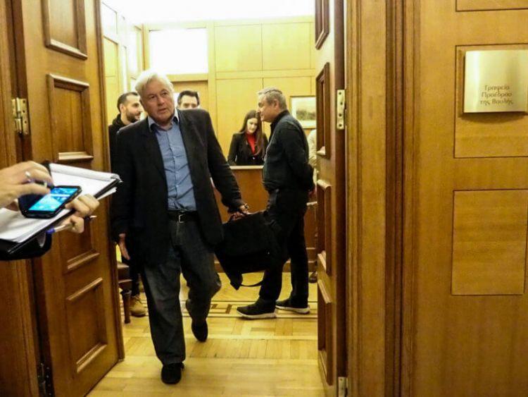 Παπαχριστόπουλος: Θα παραιτηθώ αύριο το βράδυ