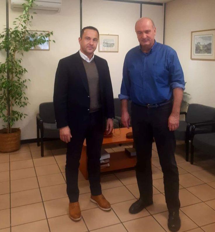 Κ. Μητρόπουλος: «Η άμεση και δίκαιη αποζημίωση των παραγωγών μας είναι επιτακτική ανάγκη» – Συνάντηση Αντιπεριφερειάρχη με τον Πρόεδρο του ΕΛΓΑ (ΦΩΤΟ)