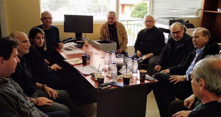 Ναυπακτία: Συνάντηση εργασίας για το Κτηματολόγιο (ΦΩΤΟ)
