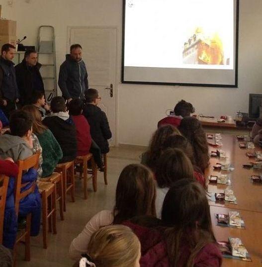 """Εκπαιδευτική επίσκεψη μαθητών του 1ου Δημοτικού σχολείου Αγρινίου στον """"Θαλή"""" (ΔΕΙΤΕ ΦΩΤΟ)"""