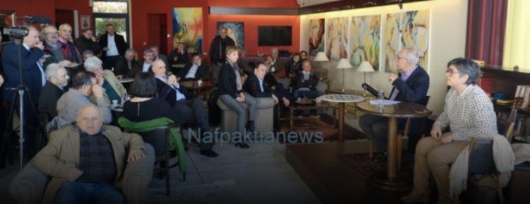 Στη Ναύπακτο ο υπ. Μεταναστευτικής πολιτικής Δημήτρης Βίτσας (ΔΕΙΤΕ ΦΩΤΟ + VIDEO)