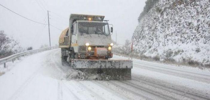 Νέος χιονιάς στην Ευρυτανία (ΔΕΙΤΕ VIDEO)
