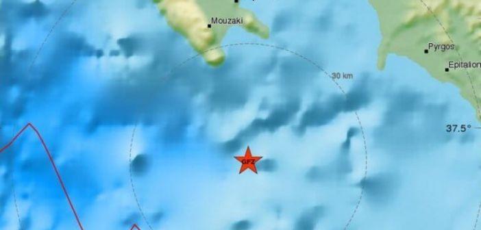 Σεισμός 4,3 Ρίχτερ κοντά στη Ζάκυνθο – Χωρίς ζημιές η δόνηση στη Λακωνία