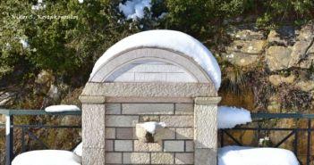 Ορεινό Θέρμο: Πανδαισία του λευκού, αποχαιρετισμός στον χειμώνα (ΔΕΙΤΕ ΦΩΤΟ)