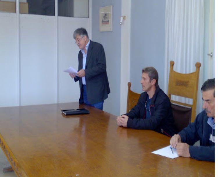 Σύσκεψη στο Αιτωλικό για το νερό, παρουσία του υποψηφίου δημάρχου της Λαϊκής Συσπείρωσης Θύμιου Γερολυμάτου (ΔΕΙΤΕ ΦΩΤΟ)