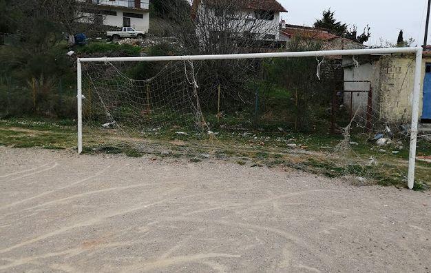 Παρατημένο το γήπεδο στον Τρύφο Ξηρομέρου (ΔΕΙΤΕ ΦΩΤΟ)