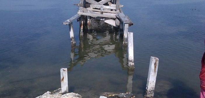 Άκτιο-Βόνιτσα: Η ξύλινη πεζογέφυρα στην Περατιάπαραμένει ακόμα κατεστραμμένη (ΔΕΙΤΕ ΦΩΤΟ)