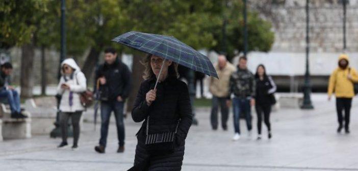 Καιρός: Ξεκινά ο «Γολγοθάς» της εβδομάδας με βροχές και πτώση της θερμοκρασίας