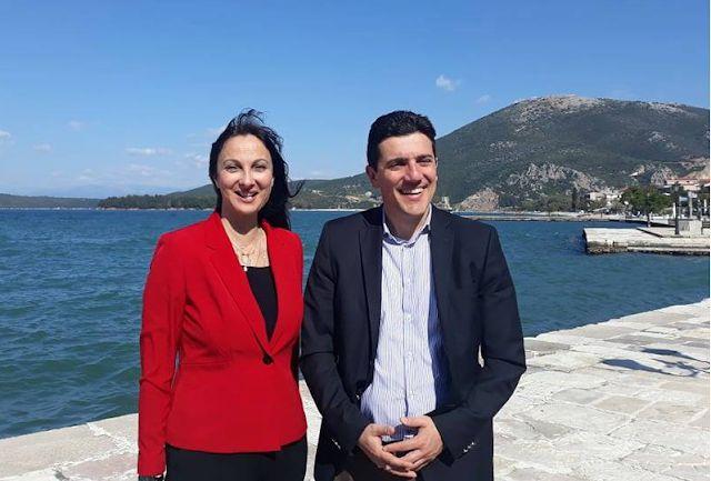 Στη Βόνιτσα η Υπουργός Τουρισμού Έλενα Κουντουρά (ΦΩΤΟ)