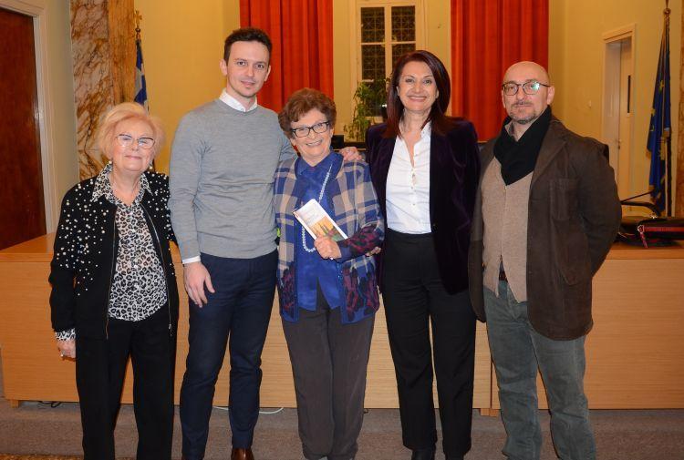 """Αγρίνιο: Παρουσιάστηκε το βιβλίο της Φρίντας Μήτσιου """"Τρυφερή Επανάσταση"""" (ΔΕΙΤΕ ΦΩΤΟ)"""