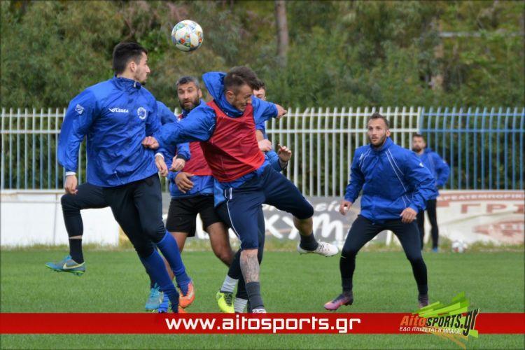Έτοιμη η ΑΕΜ για τον τελικό κυπέλλου κόντρα στον Όμηρο Νεοχωρίου