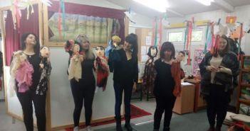 Δίκτυο Στήριξης Μαθητών Αγρινίου: Η Ομάδα Κουκλοθέατρου για 4η χρονιά φέτος φέρνει κοντά στους μικρούς την αγάπη για το κουκλοθέατρο (ΔΕΙΤΕ ΦΩΤΟ)