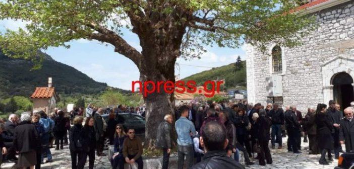 Θρήνος στο Ριγάνι Ναυπακτίας στην κηδεία του άτυχου 70χρονου Γιώργου Κρεμμύδα