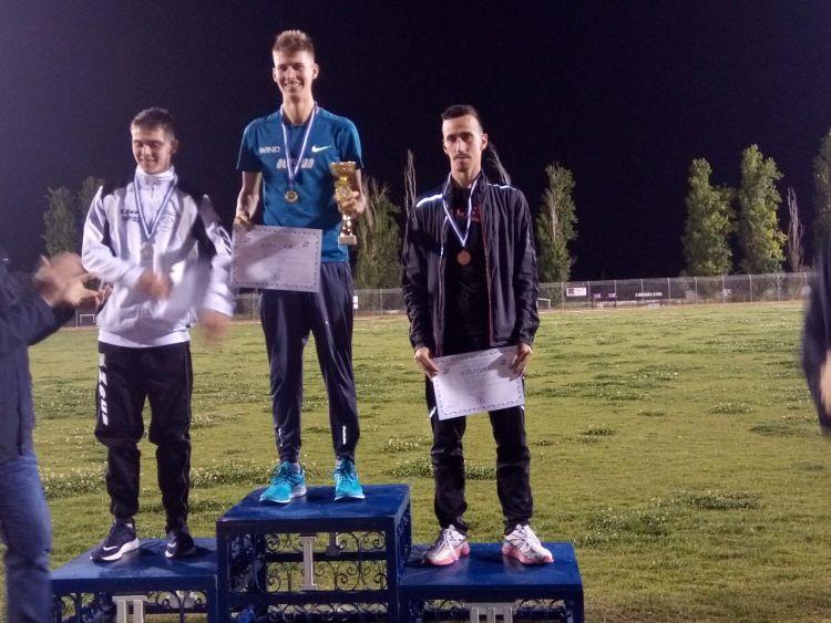 Νέο ατομικό ρεκόρ και μετάλλιο για τον Κώστα Σταμούλη στο πανελλήνιο πρωτάθλημα 10.000μ. (ΔΕΙΤΕ ΦΩΤΟ)