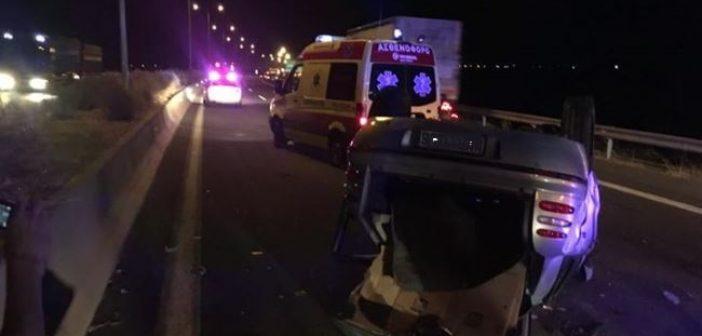Λαμία: Θανατηφόρο τροχαίο στην εθνική οδό από αυτοκίνητο που κινούνταν ανάποδα