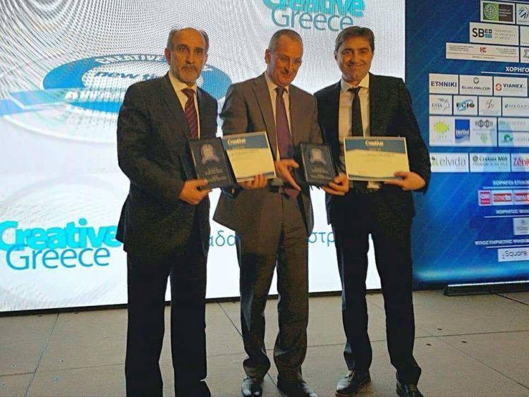 Βραβεία εξωστρέφειας στην Περιφέρεια Δυτικής Ελλάδας για τις επιδόσεις της στον Τουρισμό (ΔΕΙΤΕ ΦΩΤΟ)