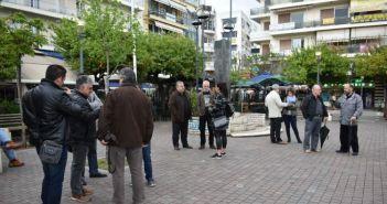 Απεργιακή κινητοποίηση της Β' ΕΛΜΕ Αιτωλοακαρνανίας στην πλατεία Δημοκρατίας (ΔΕΙΤΕ ΦΩΤΟ)