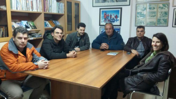 Ε.Ο.Σ. Αγρινίου: Συνάντηση μεταξύ του Δ.Σ. και εκπροσώπου της Λαϊκής Συσπείρωσης Αγρινίου (ΦΩΤΟ)