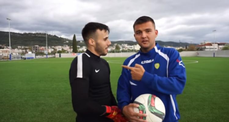 Οι freestylers Ερτίλ και Ερρίκος κόντρα σε Αγρινιώτη επαγγελματία τερματοφύλακα! (Βίντεο)