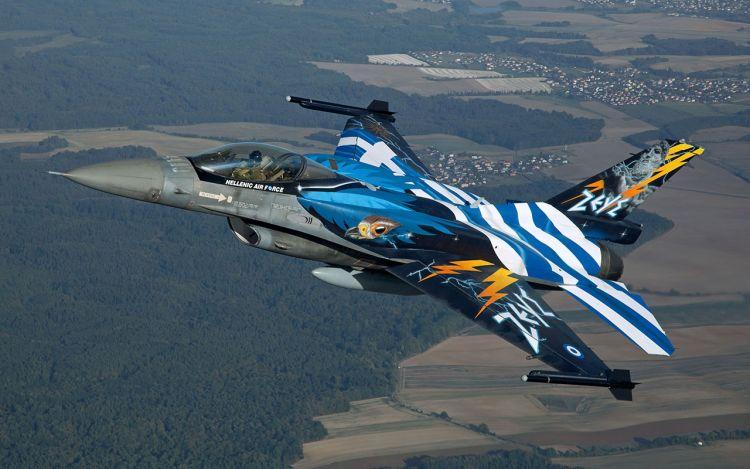 Εορτές Εξόδου 2019: Η Hellenic F16 Demo Team την Κυριακή των Βαΐων στο Μεσολόγγι