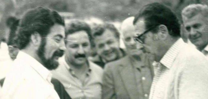 Σπάνιο φωτογραφικό υλικό από την επίσκεψη Γεννηματά στην Ορεινή Ναυπακτία το 1983