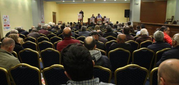 ΚΚΕ: Συγκέντρωση στην αίθουσα εκδηλώσεων του Δημαρχείου Αστακού  (ΔΕΙΤΕ ΦΩΤΟ)