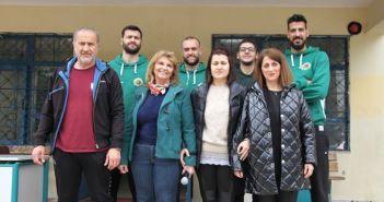 Α.Ο. Αγρινίου: Οι παίκτες της ομάδας μπάσκετ επισκέφθηκαν το 8ο Δημοτικό Σχολείο Αγρινίου (ΔΕΙΤΕ ΦΩΤΟ)