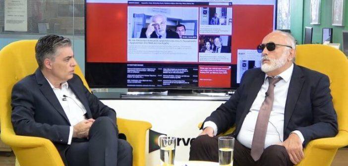 Ευρωεκλογές 2019 – Παναγιώτης Κουρουμπλής: Αμβρόσιος, Μαρινάκης, Κόκκαλης… Παπανδρέου! (VIDEO)