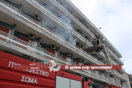 Μεσολόγγι: Φωτιά στο Liberty προέβλεπε το σενάριο άσκησης (ΔΕΙΤΕ ΦΩΤΟ)