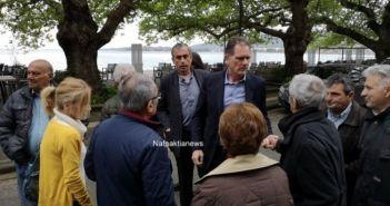 Ο Νίκος Παπανδρέου στη Ναύπακτο (ΔΕΙΤΕ ΦΩΤΟ + VIDEO)