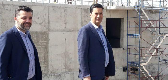 Αγρίνιο: Επίσκεψη Γ. Παπαναστασίου στα έργα επέκτασης των εγκαταστάσεων επεξεργασίας λυμάτων του Δήμου (ΔΕΙΤΕ ΦΩΤΟ)