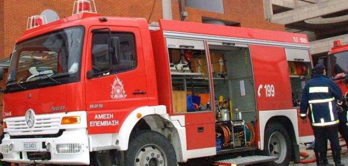 Πάλαιρος: Φωτιά σε ενοικιαζόμενο δωμάτιο από πλυντήριο