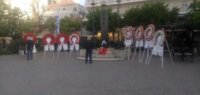 Απόδοση Τιμής στους εκτελεσθέντες του Αγρινίου (ΔΕΙΤΕ ΦΩΤΟ)