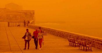 Δυτική Ελλάδα: Το κύμα σκόνης έχει αρχίσει να καταφθάνει