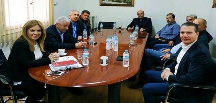 Επίσκεψη Σταρακά στην Ένωση Αγρινίου (ΔΕΙΤΕ ΦΩΤΟ)