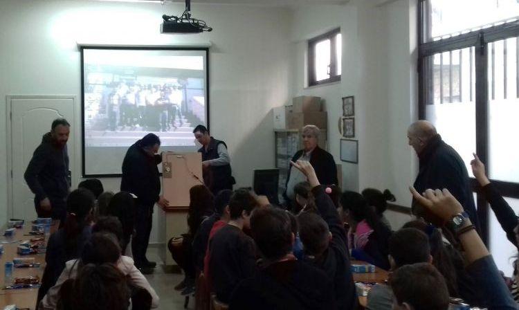 Εκπαιδευτική επίσκεψη τάξεων του 6ου Δημοτικού Σχολείου Αγρινίου στο Σύνδεσμο Εργολάβων Αιτωλοακαρνανίας (ΔΕΙΤΕ ΦΩΤΟ)